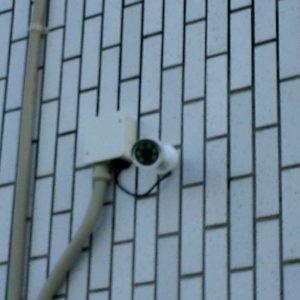園外監視カメラ